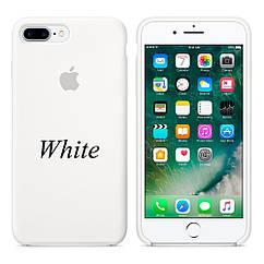 """Apple silicon case 7 Plus  """" White"""""""