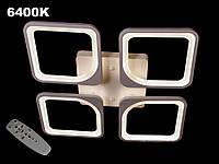 Потолочная LED-люстра с диммером, 110W, фото 1