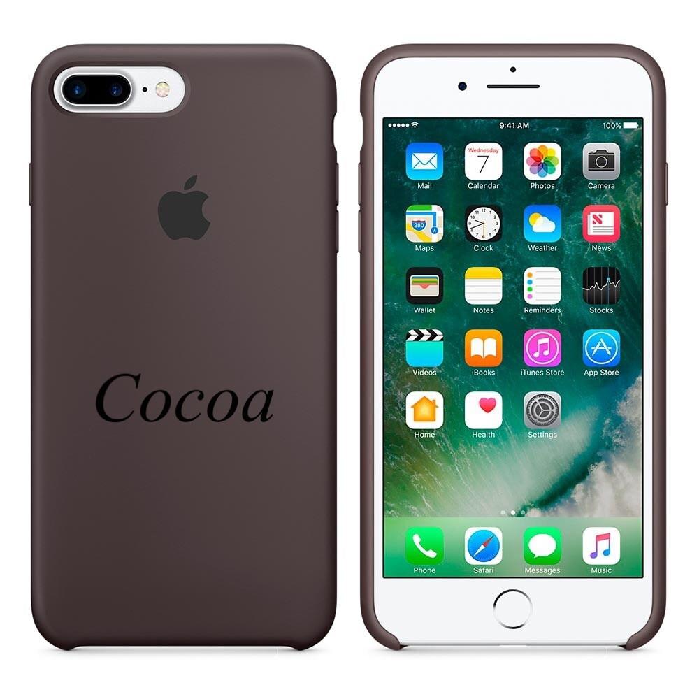 Apple silicon case iphone 7 Plus Cocoa