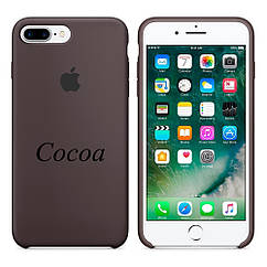 "Apple silicon case iPhone 7 Plus/iPhone 8 Plus ""Cocoa"""