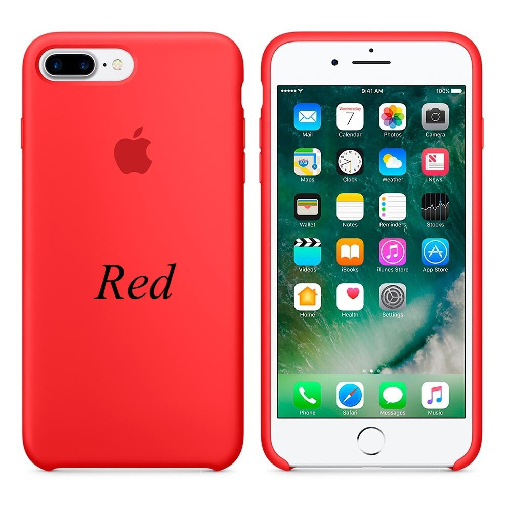 "Apple silicon case iPhone 7 Plus/iPhone 8 Plus "" Product RED"""