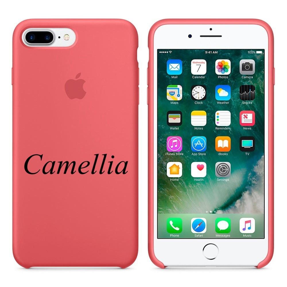 """Apple silicon case iPhone 7 Plus/iPhone 8 Plus"""" Camellia"""""""
