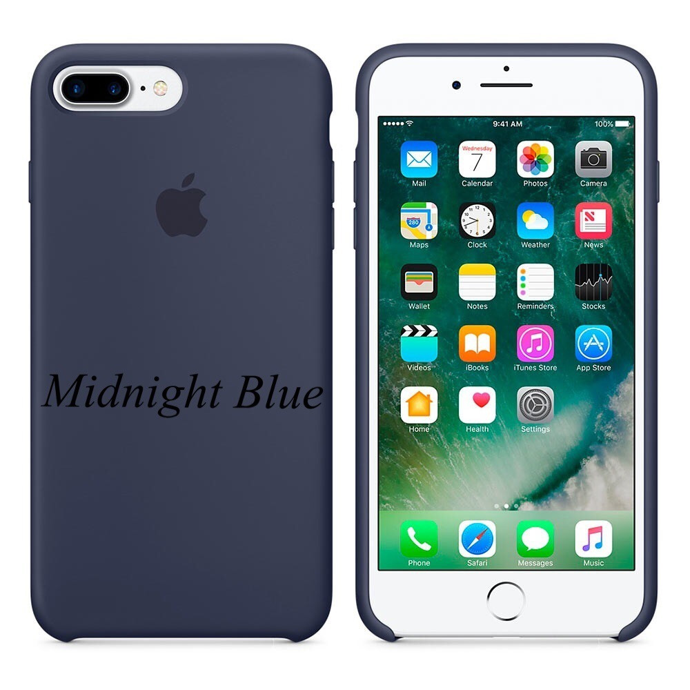 "Apple silicon case iPhone 7 Plus/iPhone 8 Plus  "" Midnight Blue"""