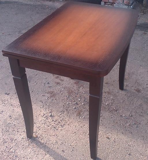 Стол кухонный деревянный Эрика Микс мебель, цвет венге-орех