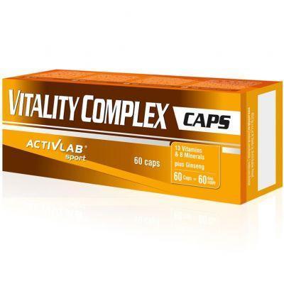 Комплекс витаминов и минералов ActivLab - Vitality Complex (60 капсул)