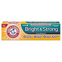Отбеливающая зубная паста с фтором укрепляющая эмаль Arm & Hammer Truly Radiant Whitening Enamel Strengthening