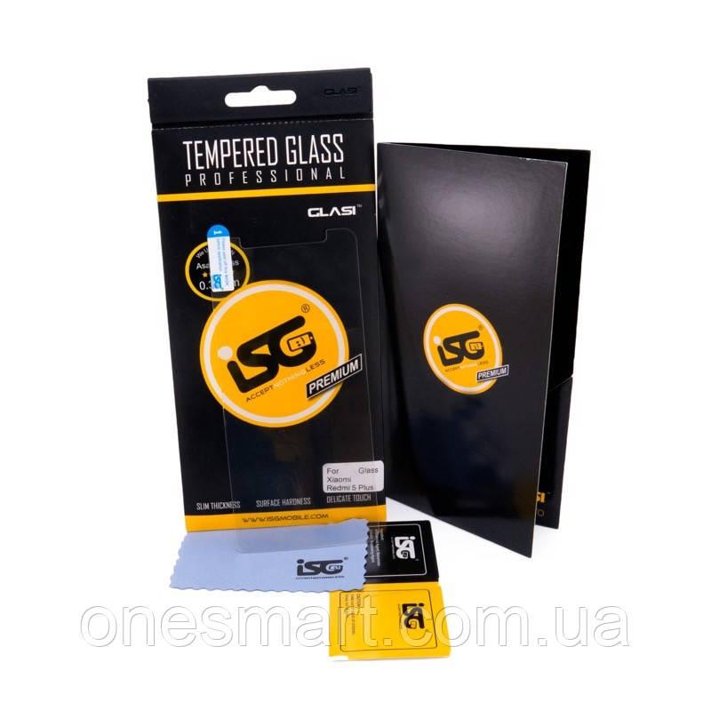 Защитное стекло iSG Tempered Glass Pro для Xiaomi Redmi 5 Plus