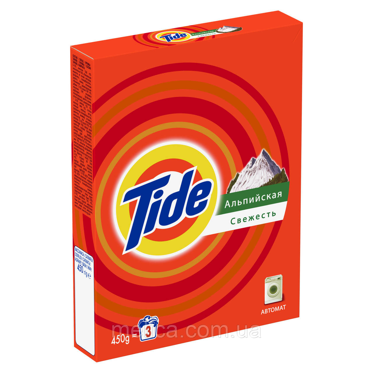 Стиральный порошок Tide Альпийская свежесть 450 г Автомат