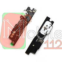 Шлейф для Meizu M3 Note (M681H), с разъемом зарядки, с микрофоном, плата зарядки, с кнопкой меню