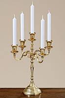 Подсвечник, канделябр на 5 свечей Виктория. Высота 40 см