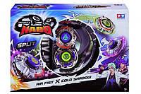 Волчок Auldey Infinity Nado сплит Air Fist и Cold Shadow с устройством запуска