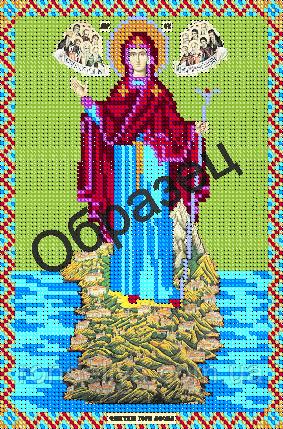 Схема для вышивки бисером «Игуменья горы Афона»