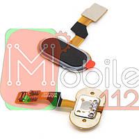 Шлейф для Meizu M3s (Y685)/M3s mini/U10, с кнопкой меню (Home), черного цвета, версия VGS