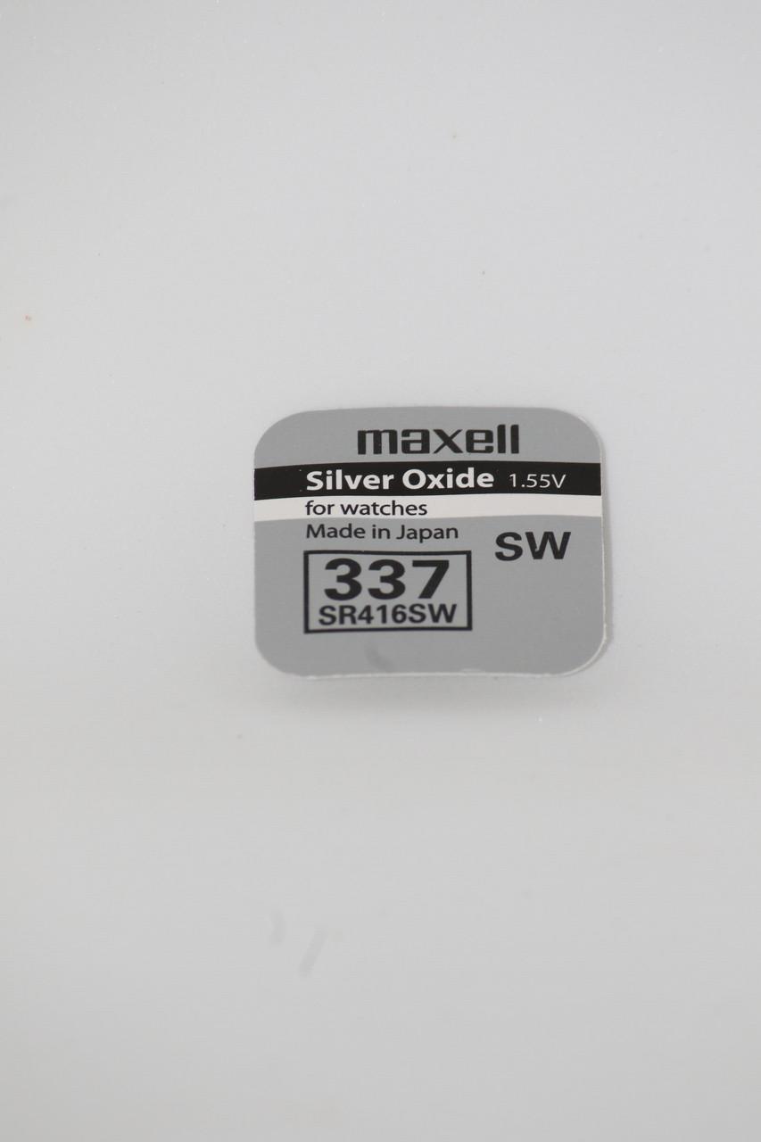 Часовая батарейка Maxell SR416SW (337)