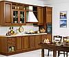 Кухонные гарнитуры Киев, на заказ из дерева, мдф шпон, мдф пленочный, мдф крашеный