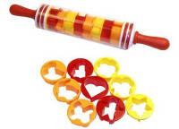Скалка с Формочками для Печенья Roll and Store Pin