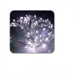 Гірлянда LED світлодіодна зовнішня з контролером 10м Stenson R82853-1 White