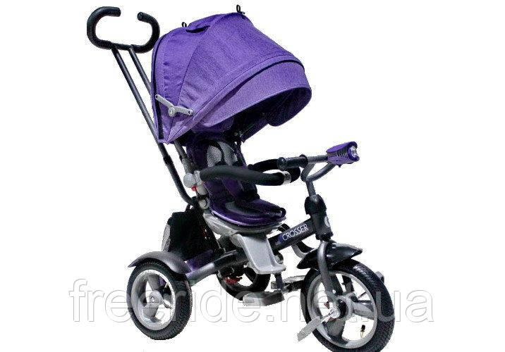 Детский трехколесный велосипед Crosser T-503 ECO AIR