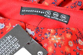 Новое красное цветочное платье с поясом Atmosphere, фото 3