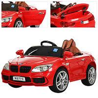 Детский электромобиль BMW M 2773EBLR-3, красный