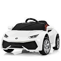 Детский электромобиль Lamborghini M 3826 EBLR-1: 2.4G, EVA, 50W, кожа - БЕЛЫЙ - купить оптом, фото 1
