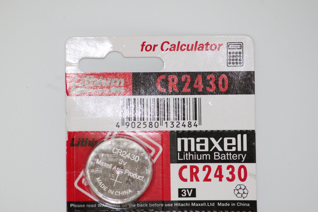 Батарейка Maxell CR2430