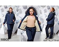 Зимовий жіночий спорткостюм з плащовки на синтепоні 200 0a081d47639a7