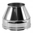 Конус для дымохода 120/220 нерж/нерж. 1 мм AISI 321