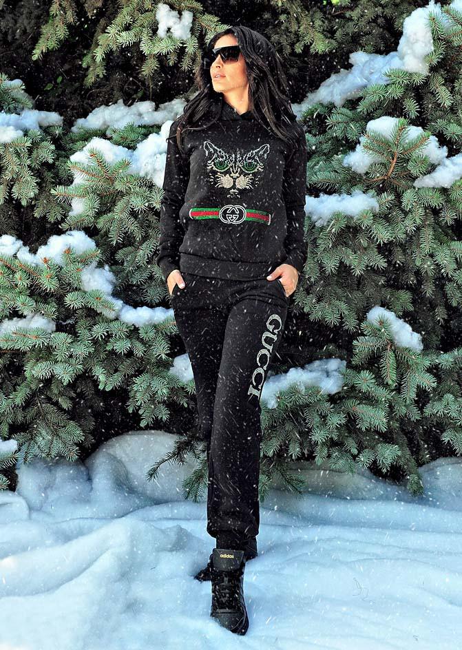 4646b0ff41b6b Женский тёплый спортивный костюм на байке
