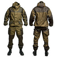 Камуфляжный костюм Горка для рыбалки и охоты (M - 44-46)/ Военный костюм /  Камуфляжный комплект / Комуфляжный