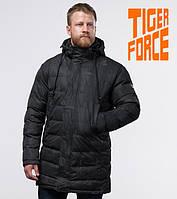 Куртка удлиненная на меху зимняя мужская Tiger Force - 52190Y серая