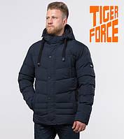 Куртка удлиненная зимняя мужская Tiger Force - 52235F темно-синяя