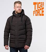 Куртка удлиненная зимняя мужская Tiger Force - 52235L кофе