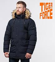 Куртка зимняя мужская на меху Tiger Force - 72160M синяя