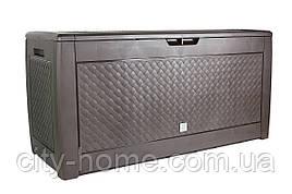 Ящик для внешнего хранения Boxe Matuba 310 л, коричневый