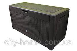 Ящик для внешнего хранения Boxe Rato 310 л, коричневый