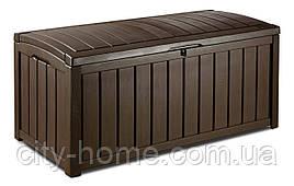 Ящик для внешнего хранения Keter GlenWood 390 л, коричневый