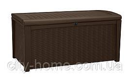 Ящик для внешнего хранения Keter Borneo 416 л, коричневый