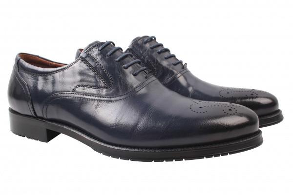 Туфли Lido Marinozzi натуральная кожа, цвет синий