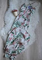 Новое цветочное макси платье с красивой спинкой Missguided, фото 3