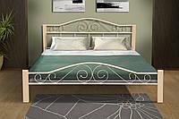 Кровать Респект Вуд (бежевая) 1600*2000