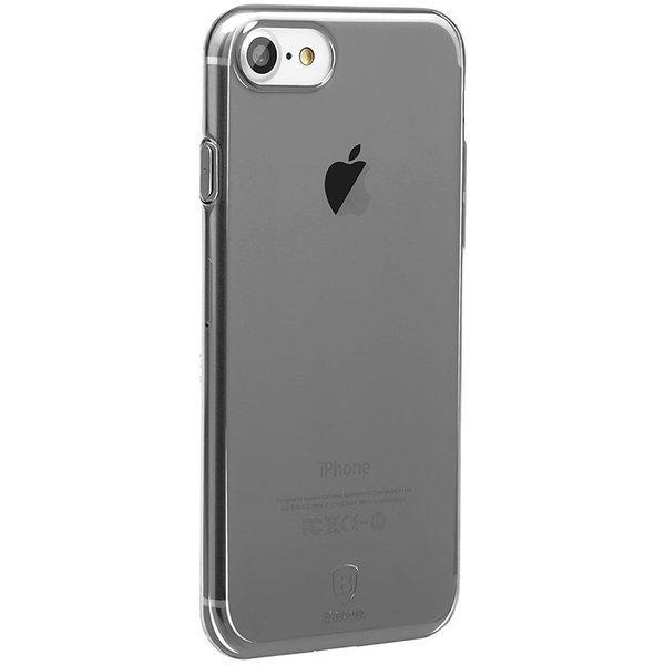 Baseus silicon case iPhone 7 (Black)