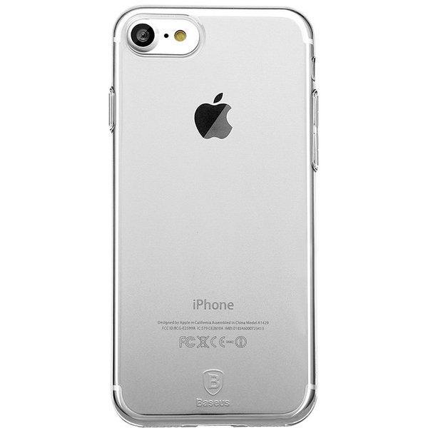 Baseus silicon case iPhone 7 (White)