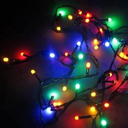 Гирлянда новогодняя светодиодная LED 200 диодов Спартак мульти M4