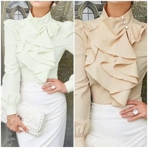 Шикарная шелковая блуза