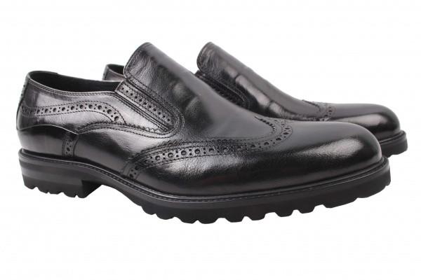 Туфли Roberto Paulo натуральная кожа, цвет черный