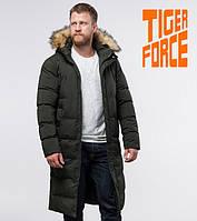 Tiger Force 73612 | зимняя куртка мужская темно-зеленая