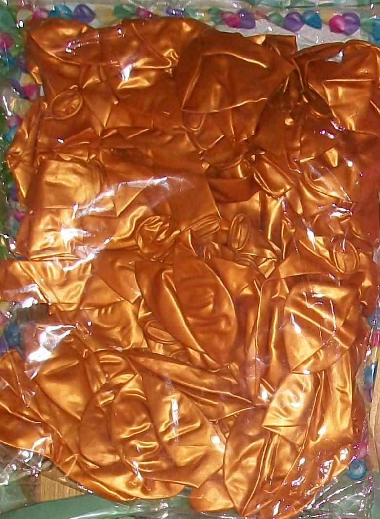 Воздушный шар металлик золотой 12″/30см