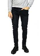 Черные мужские джинсы зауженные ZARA MAN, фото 1
