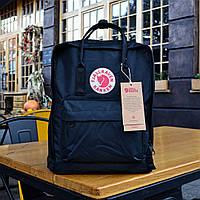 Городской рюкзак Fjallraven Kanken Classic Bag black. Живое фото. Премиум класса
